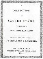 1844 Hymnal cover