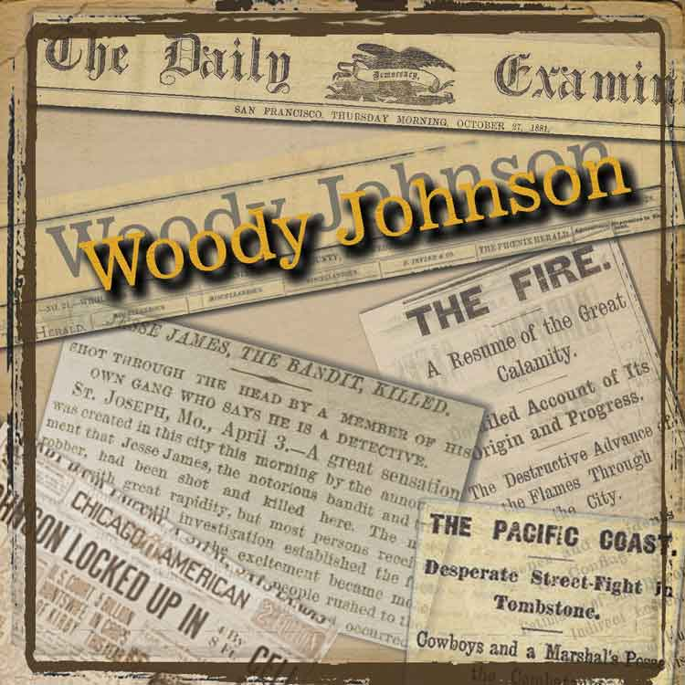 Woody Johnson CD Cover